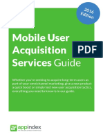 Mobile User Acquisition Services Guide