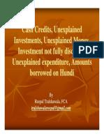 Cash Credits Unexplained Investments Unexplained Money-Reepal-Tralshawala-Compatibility-Mode