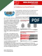 Investimenti Pubblicitari Social Network