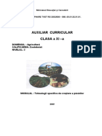 Agricultura si Tehnologii Specifice de Crestere a Pasarilor