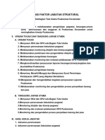 Contoh Evaluasi Jabatan Ka Subbagian Tata Usaha Puskesmas Kecamatan