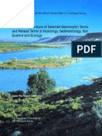 Annotated Definitions of Selected Geomorphic Terms Osterkamp 2008