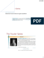 Lecture 1 Fourier Series