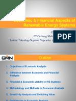 1. Economic & Financial Aspects