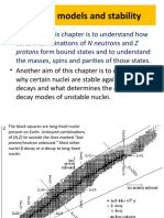 Nuclear Models and Stability