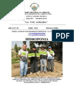 Voz Agraria o6-2011 Hidroponia