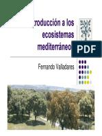 Introduccion ecosistemas mediterraneos