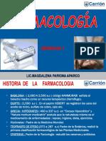 Clases Sem. 01 Farmacologia
