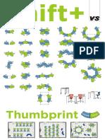 thumbprint layouts