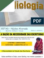 Aula EETAD Bibliologia