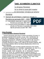Curs 9 - Clima Romaniei. Schimbari Climatice