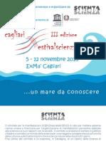 III edizione Cagliari Festivalscienza, 5 - 12 novembre 2010