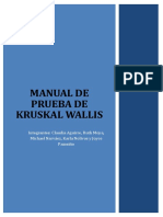 Manual de Kruskal Wallis
