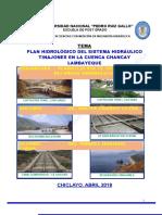 Plan Hidrològico Cuenca Chancay Lambayeque