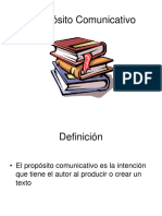 ppt propositos comunicativos
