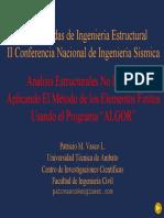 Presentación MEF ALGOR
