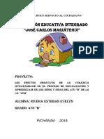 Proyecto Violencia Intrafamiliar