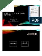 Adherencia Anclajes y Traslapos ACI 318S-14