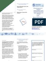 PTAC School Volunteer Brochure