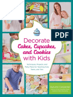 Decorate Cakes, Cupcakes, And Cookies With Kids