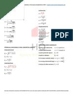 Formulas de Poligonos y Cinematica Para Arquitectura Unc - Hq Apoyo Universitario