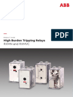4CAE000328 a en High Burden Tripping Relay