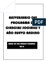 EFRAIN SERGIO CONDORI CHARA Bases JUEGOS FLORALES 2018 CC.SS