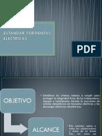 ESTANDAR TORMENTAS ELECTRICAS