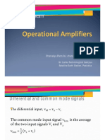 Lec 2 Operational Amplifiers