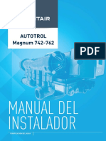 Installer Manual Autotrol Magnum 742-762 Es