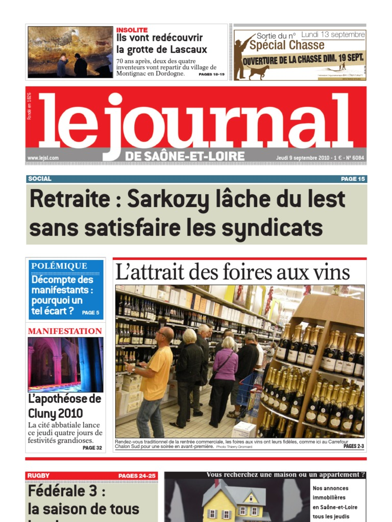 Le Journal 9 Septembre 2010 4ad32232e19