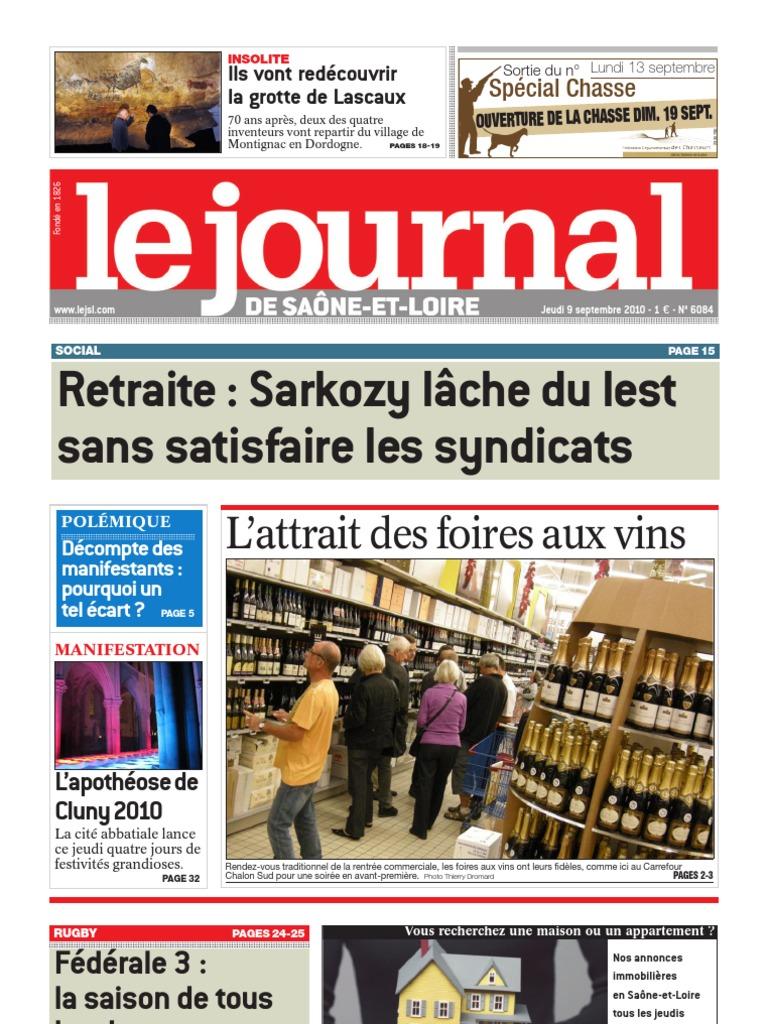 Le Journal 9 Septembre 2010   Vins   Business