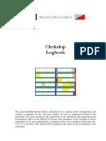 Clerkship Logbook