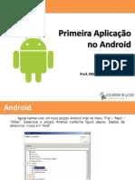 02 - CM - Primeira Aplicação No Android - FDV