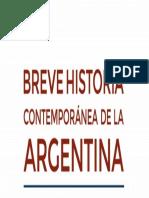 Breve Historia Contemporanea de La Argentina Luis Alberto Romero