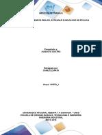 Fase 3 Calcular Tiempos Reales, Estándar e Indicador de Eficacia