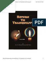 Http 2Fbhantepunnajicom2Fbook2FReturn to Tranquility VenPunnajipdf