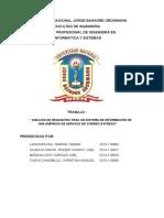 Sistema de Informacion de Servicio Expreso