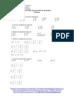 Microsoft Word - Guía N°28 De Ejercicios PSU De Matemática - Potencias