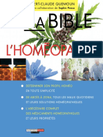 Ma Bible de l Home Opathie