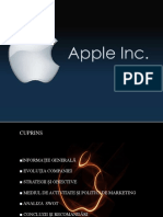 marketing- proiect apple inc