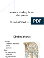 Anatomi Dinding Thorax Dan Pulmo