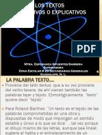 Textos Expositivos Explicativos YO Esperanza Sifuentes Barrera