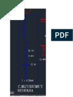 Diagrama unifilar de Curumuy