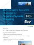 Bring Your Payments Up to Full Speed ? Saps Bank Communication Management