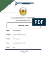 Ensayo Al Fuego - Metalurgia Extractiva