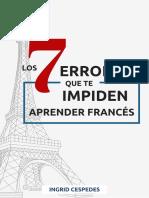 7 Errores Que Te Impiden Aprender Francés