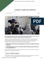 Oito Perguntas Para Entender o Conflito Entre Israelenses e Palestinos - BBC Brasil