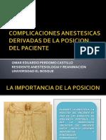Posiciones en Anestesia