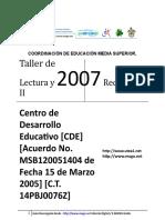 01 D. B. Taller de Lectura y Redaccion II